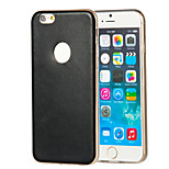 Magic Spider®TPU Transparent Bumper+Skinniness Design Back Soft Case Cover for iPhone 6(Assorted Color)