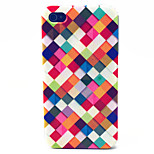 Color Box Pattern TPU Material Phone Case for iPhone 4/4S