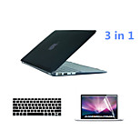 Crystal 3 in 1 Full Body Case with Keyboard Cover and HD Screen Protector for Macbook Pro 13.3