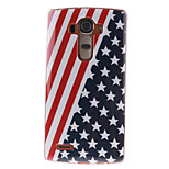 Painted Flag TPU Soft Case for LG G4