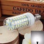 e14 6w 750lm 6500k / 3500k 69-SMD 5730 ha condotto il bianco freddo / caldo della lampada della luce del cereale (220v ~ 240v)