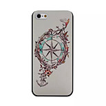 Moon And Stars Pattern PC Phone Case For iPhone 5/5S