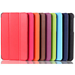 8.3 Inch Triple Folding Pattern High Quality PU Leather Case for LG G Pad 8.3(Assorted Colors)