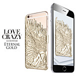 Angel Wings Pattern PC Hard Back Case Cover for iPhone 6 Plus(Assorted Colors)