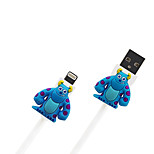 Disney James Sulley Charging Cable For Iphone 5G/5S/5C/6/6PLUS Ipad Air 2 Ipad Mini
