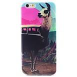 Alpaca Pattern TPU Material Soft Phone Case for iPhone 6
