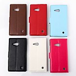 Litchi Grain Bumpers for Nokia Lumia 735(Assorted Colors)