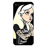 Think About Girls Pattern Phone Back Case Cover for iPhone5C