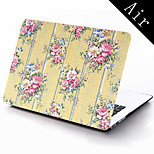 Yellow Flower Pattern Full-Body Protective Case for 11-inch/13-inch New MacBook Air
