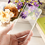 Clear Crystal PC Back Case for iPhone 6