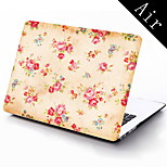Vintage Design Flower Design Full-Body Protective Case for 11-inch/13-inch New MacBook Air
