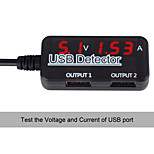 USB Detactor Voltage Current Meter Tester Monitor Solar Panel Alignment Tester Mobile Power Panel Monitor