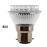 b22 / e27 2w luz blanca natural 120-155lm llevado-38 llevó el bulbo punto (230v)