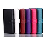 4.7 Inch  Crazy Ma Pattern Luxury PU Wallet Leather Case for LG L90 D405(Assorted Colors)