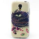 Nest-Muster-TPU Material weich Telefonkasten für Samsung Galaxy S4 mini i9190