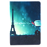 Tower under the Love Pattern PU Leather Full Body TPU Case with Card Holder for Ipad Air 2/Ipad 6