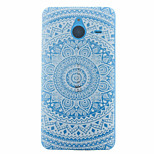 Large Round Printing Pattern Slim TPU Material Soft Phone Case for Nokia 640 XL
