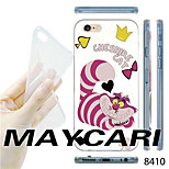 MAYCARI®Cartoon Squirrel Pattern TPU Soft Transparent Back Case for iPhone 6