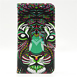 Lion Pattern PU Leahter Full Body Case with Card Slot for Microsoft Lumia 640