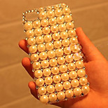Diamond Pearl Pattern Transparent Hard Back Back Case for iPhone5/5S