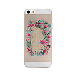Faceplate Pattern PC Material Phone Case for iPhone 5/5S