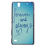 Heart Pattern PC Hard Case for Sony Xperia C4