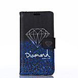 Elegant Diamond Pattern PU Leather Full Body Case with Stand for Sony Z3