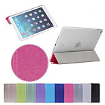 Hot Selling High Quality Ultra Slim Auto Sleep and Wake Up Case Cover for iPad Air 2 (Assorted Colors)