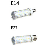 1 pcs E14/E26/E27 18 W 58 SMD 2835 1650 LM Warm White/Cool White Corn Bulbs AC 100-240 V
