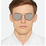 Mirrored 100% UV400 Round Sunglasses