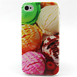 Ball  Pattern TPU Phone Case for iPhone 4/4S