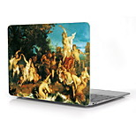 Famous Paintings Design Full-Body Protective Plastic Case for 12 Inch The New Macbook with Retina Display