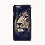The Sad Lion Design Aluminum Hard Case for iPhone 6