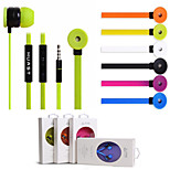 HUAST Stereo 3.5mm IN-Ear Earphone Earbuds Headset Headphone Wire Remote With Mic+Volume Control For iPhone Samsung MP3