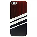 Schwarz-Weiß-Muster-TPU gemalt weiche rückseitige Abdeckung für iphone 5/5 s