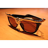 Europe And The United States Star Personality Lion Sunglass Black