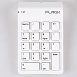 2.4g ultra mini wireless keyboard for laptop KB609
