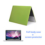 Top Selling PVC Full Body Protective Case Cover and HD Screen Protector for New Macbook 12 inch (Assorted Colors)