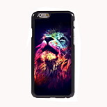 The Lion Look Up Design Aluminum Hard Case for iPhone 6