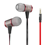 HOCO®  EPV01 3.5mm In-Ear Earphones with Microphone&Volume Control for iPhone
