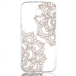 Half Flower Pattern Pierced Hard Back Case for Motorola G2