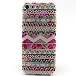 Pink Stripes Pattern TPU Material Phone Case for iPhone 5C