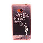 caja del teléfono del tpu patrón de graffiti para Nokia Lumia 640 microsoft