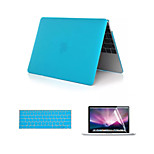 Crystal 3 in 1 Full Body Case with Keyboard Cover and HD Screen Protector for New Macbook Retina 12