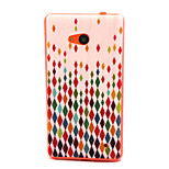 Diamond Rain  Pattern TPU Phone Case for Nokia Microsoft Lumia 640
