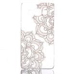 motif de fleur creuse ultramince cas dur de couverture arrière pour Samsung Galaxy a3 a5