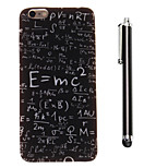 Func Tions Pattern TPU Soft Back and A Stylus Touch Pen for iPhone 6 Plus