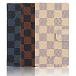 Grid Pattern PU Leather Phone Case For Sony Xperia Z3 Mini (Assorted Color)