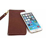 Cow Skin Pattern PU Wallet Leather Case for iPhone 6 4.7'' Inch(fit for smart phone under 4.7'' Inch)