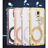 diamant aluminiumslegering mobiltelefon tilfelle for Samsung Galaxy Note 4